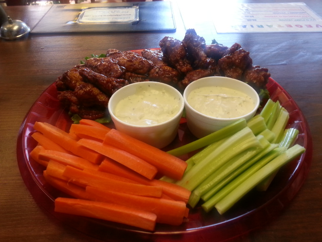 BBQ WINGS TRAY