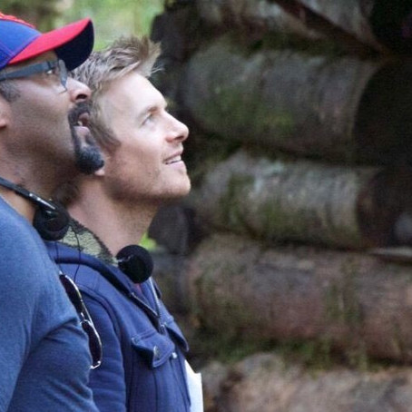 'Flash' stars Rick Cosnett & Jesse L. Martin on co-directing their first short