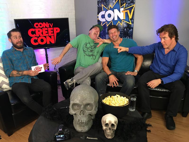 ConTV interview with KILLERS Cast: Joel Reaves (host), Latt, Paul Logan, Scott Carson