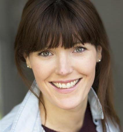 Actress Kate Marie Davies, creator of #ShowreelShareDay