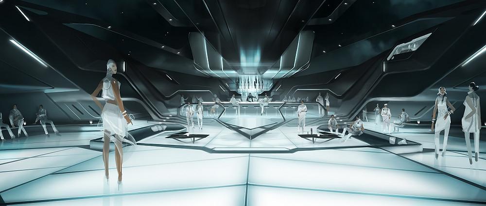 Concept Design: TRON: Legacy