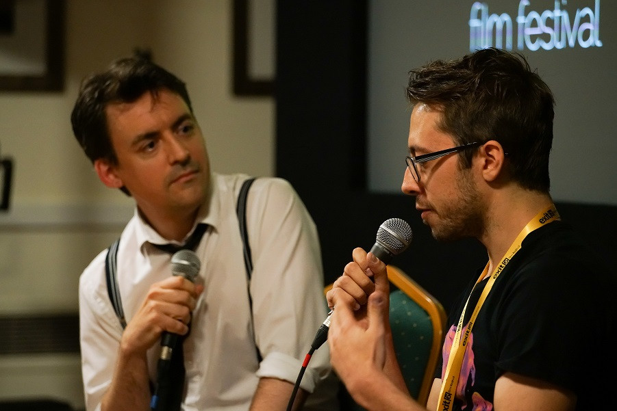 Host Rob Hayes chats to director Andrew Rutter