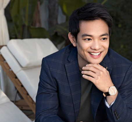 Osric Chau from watching films at Sundance to making one in the Philippines