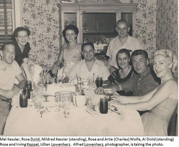 Artie Wolfe's birthday party 1947.JPG