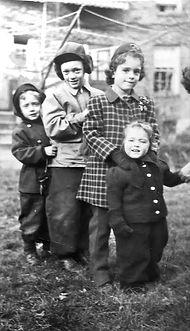 Eric Saul, Peter Saul, Susan and Emily D