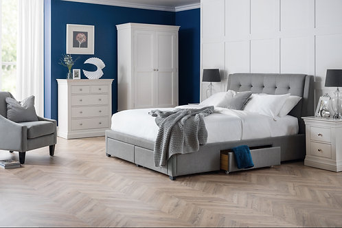 JB Fullerton Bed with 4 drawers