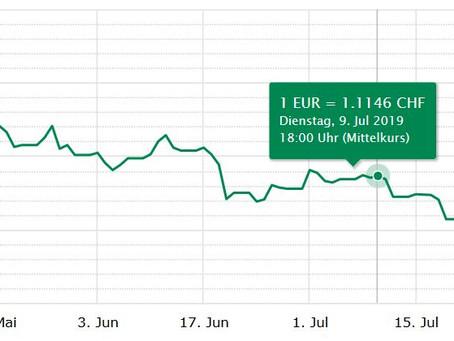 """Der Euro geht wieder auf """"Krisen-"""" Niveau"""