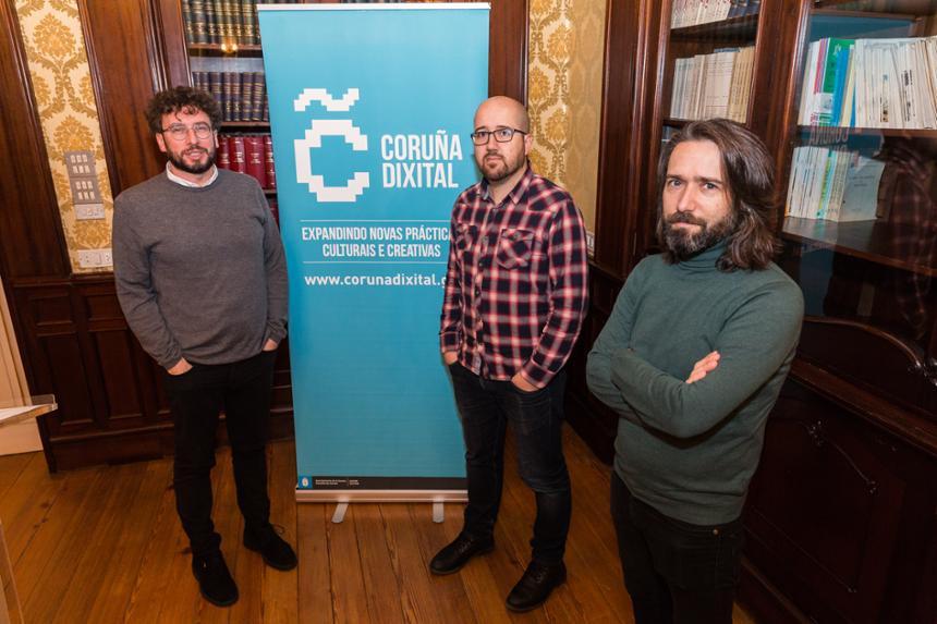 """A Concellería de Culturas activa a terceira edición de Coruña Dixital, que disporá este ano dun espazo de referencia no centro Ágora """"para conectar a colectivos da cidade sobre a creación e as novas tecnoloxías"""""""