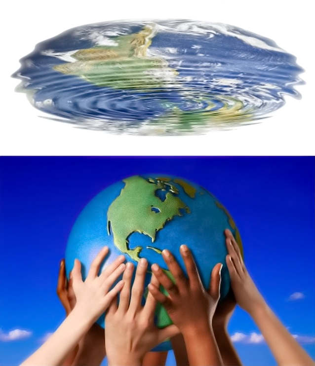 Children will change the world, water ripple above, Anonymous Limbs.png