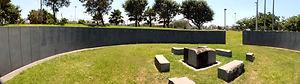 """גדעון שריג,אדריכלות נוף,חללי טרור, גן חללי הטרור תל אביב,לב וקסמן, גן חללי טרור ת""""א"""