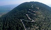 גדעון שריג,אדריכלות נוף,לב וקסמן,הר תבור,שמורת טבע הר תבור