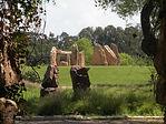 גדעון שריג,לב וקסמן,אדריכלות נוף,גני סלעים, גן סלעים