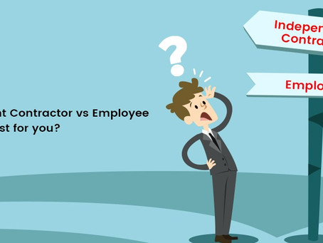 Pros and Cons of employing - Inhouse vs Contractor (Financial)
