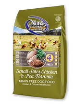 NutriSource Small Bites Chicken and Pea Formula