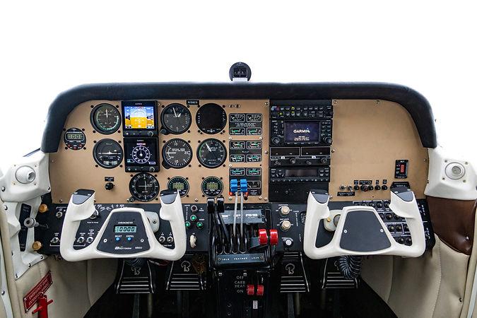 N184ER, Instrument Panel.jpg