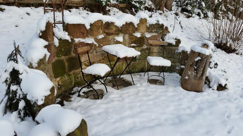 Gartenruine - Winter