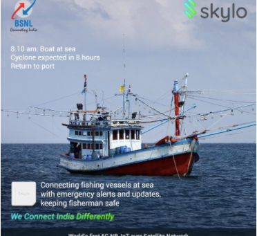 Skylo Partners with BSNL to Launch World's First Satellite-Based IoT Network in India