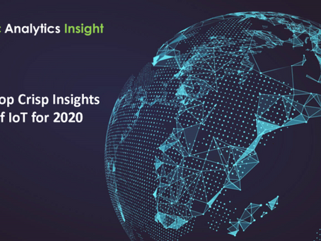 TOP CRISP INSIGHTS OF IOT FOR 2020