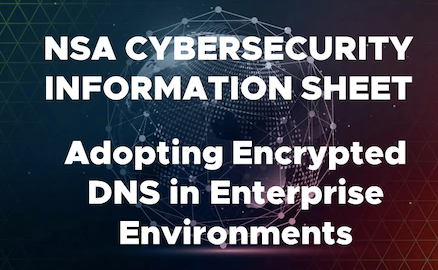 NSA Recommends How Enterprises Can Securely Adopt Encrypted DNS