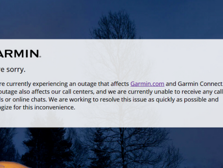 Garmin services and production go down after ransomware attack