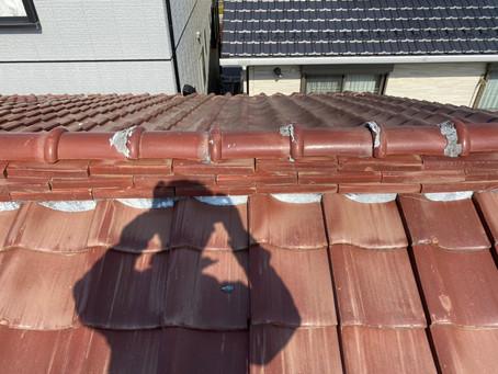 川口市K様宅にて瓦屋根の漆喰破損調査を実施いたしました!