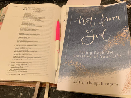 Not From God Review-Kaitlin Chappell Rogers