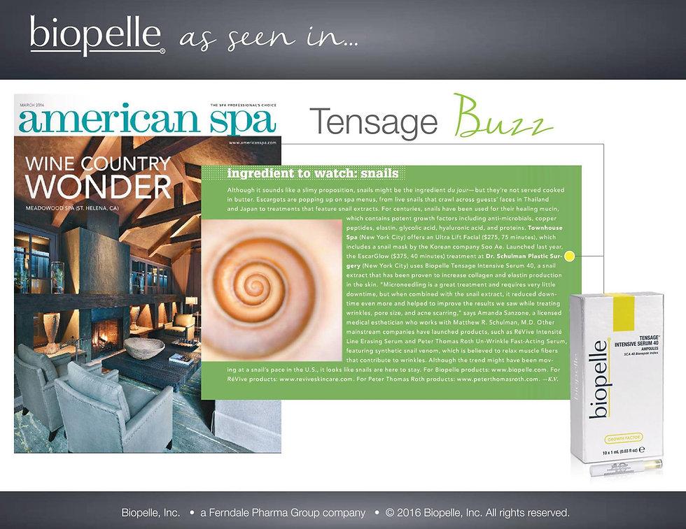 Biopelle - Tesnage Intensive Serum - Medical Skin and Laser