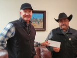 Local Feedyard Donates to OGH Healthcare Foundation