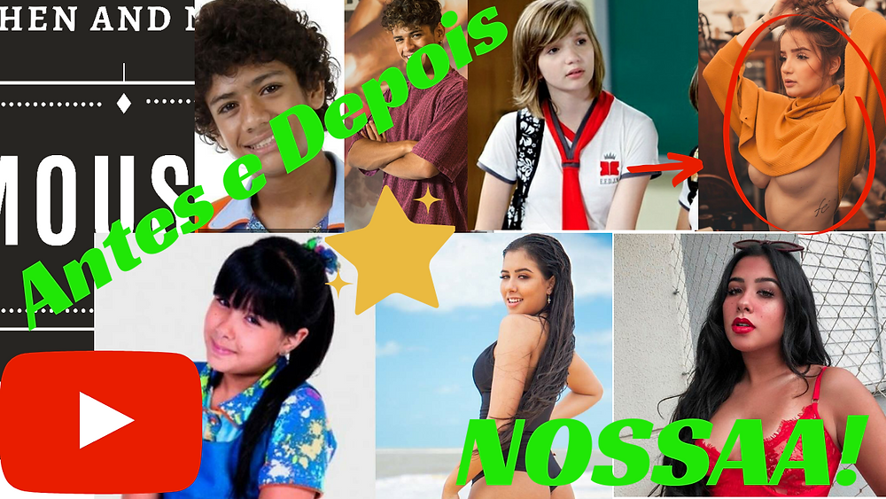 Antes e depois Chiquititas/Then And now