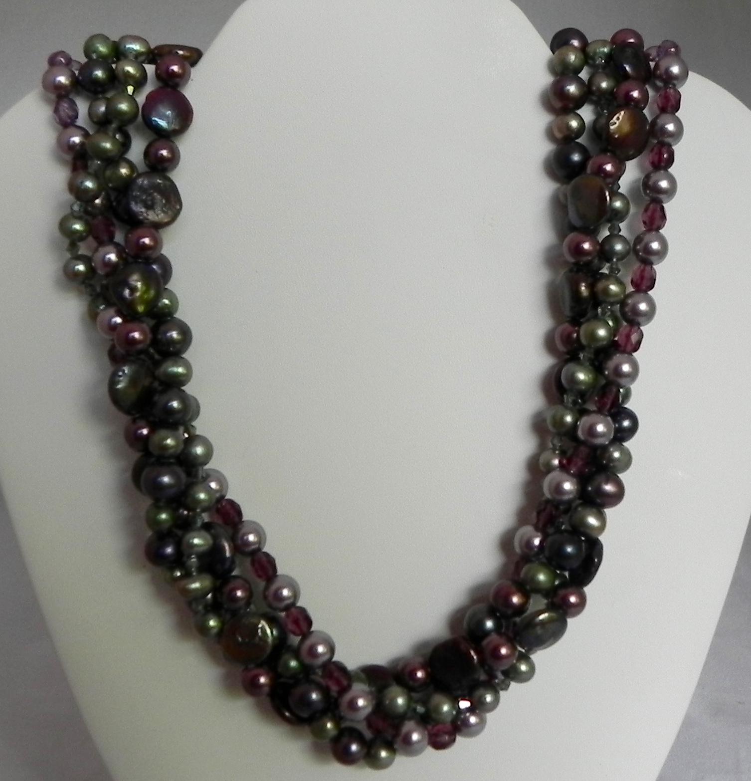 Pearls & Swarovski Pearls #417