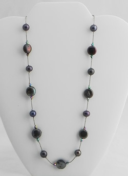 Peacock Pearls #517