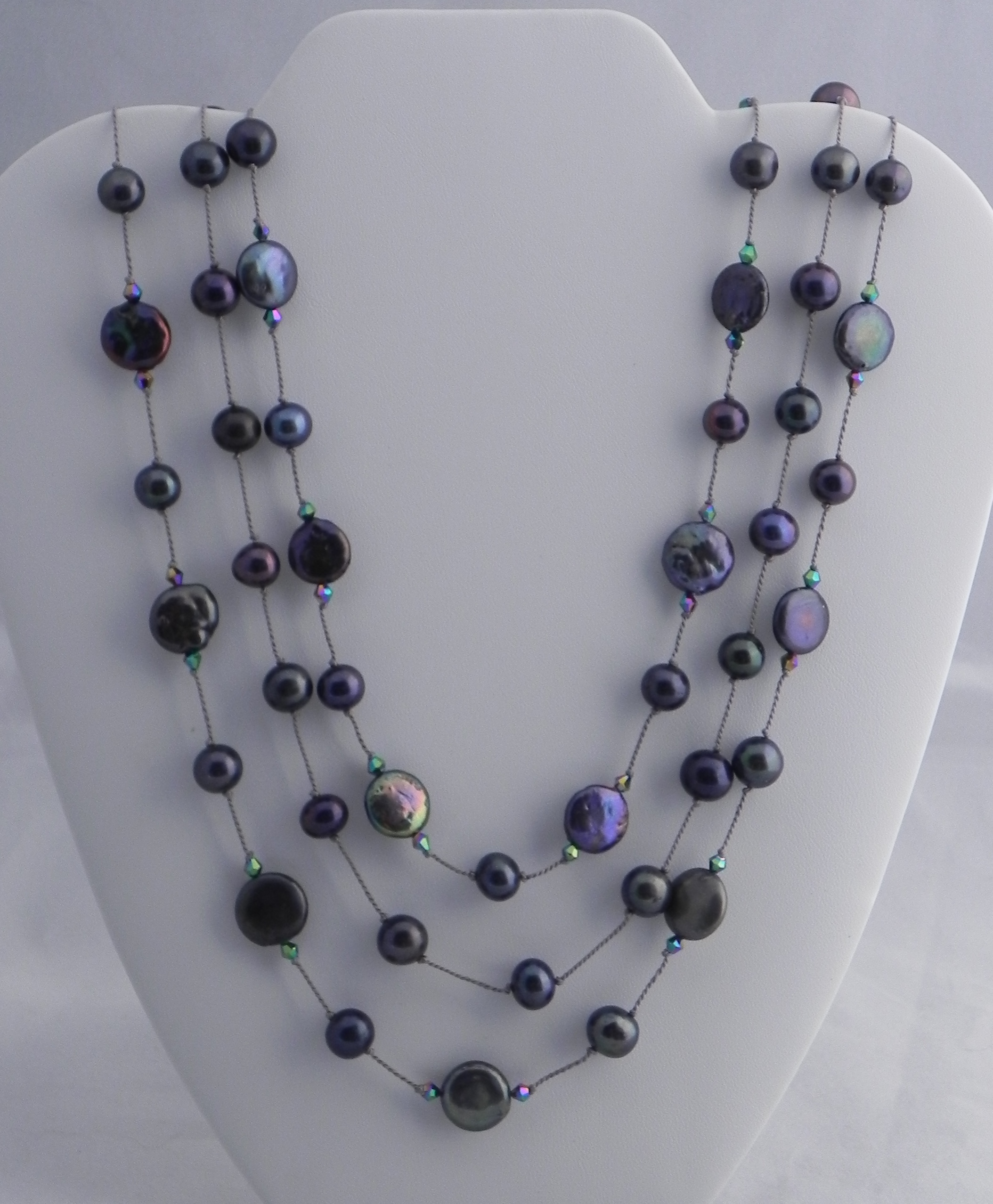 Peacock Pearls #514