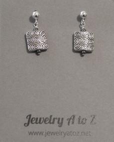 Silver w/Hematite #130E