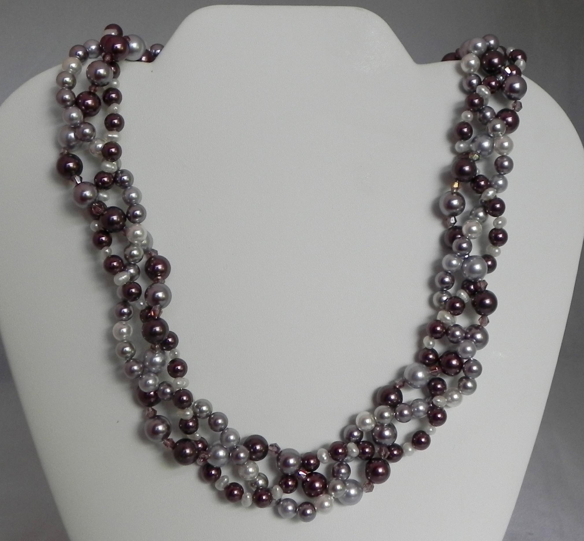 Pearls & Swarovski Pearls #809