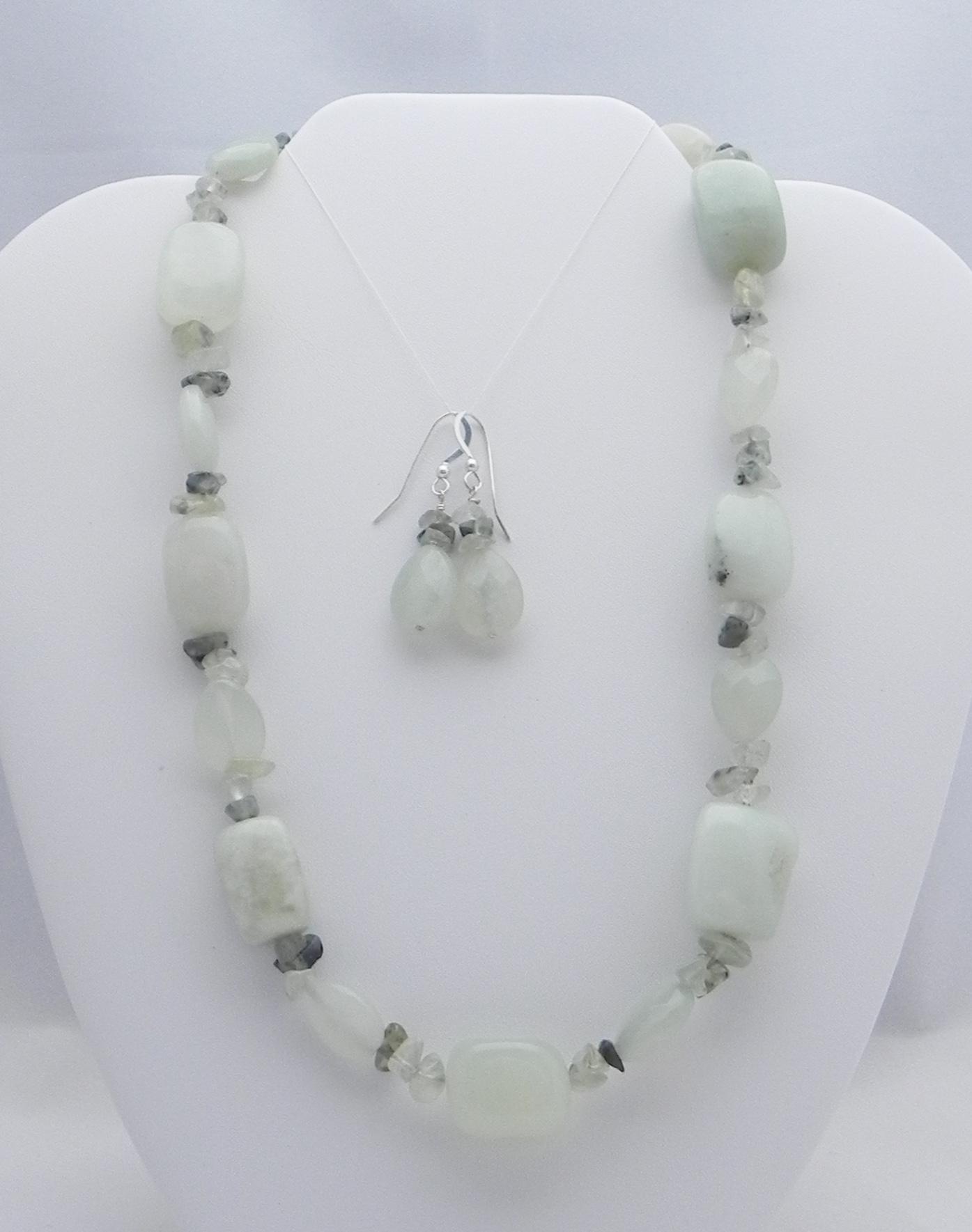New Jade & Prehnite #813