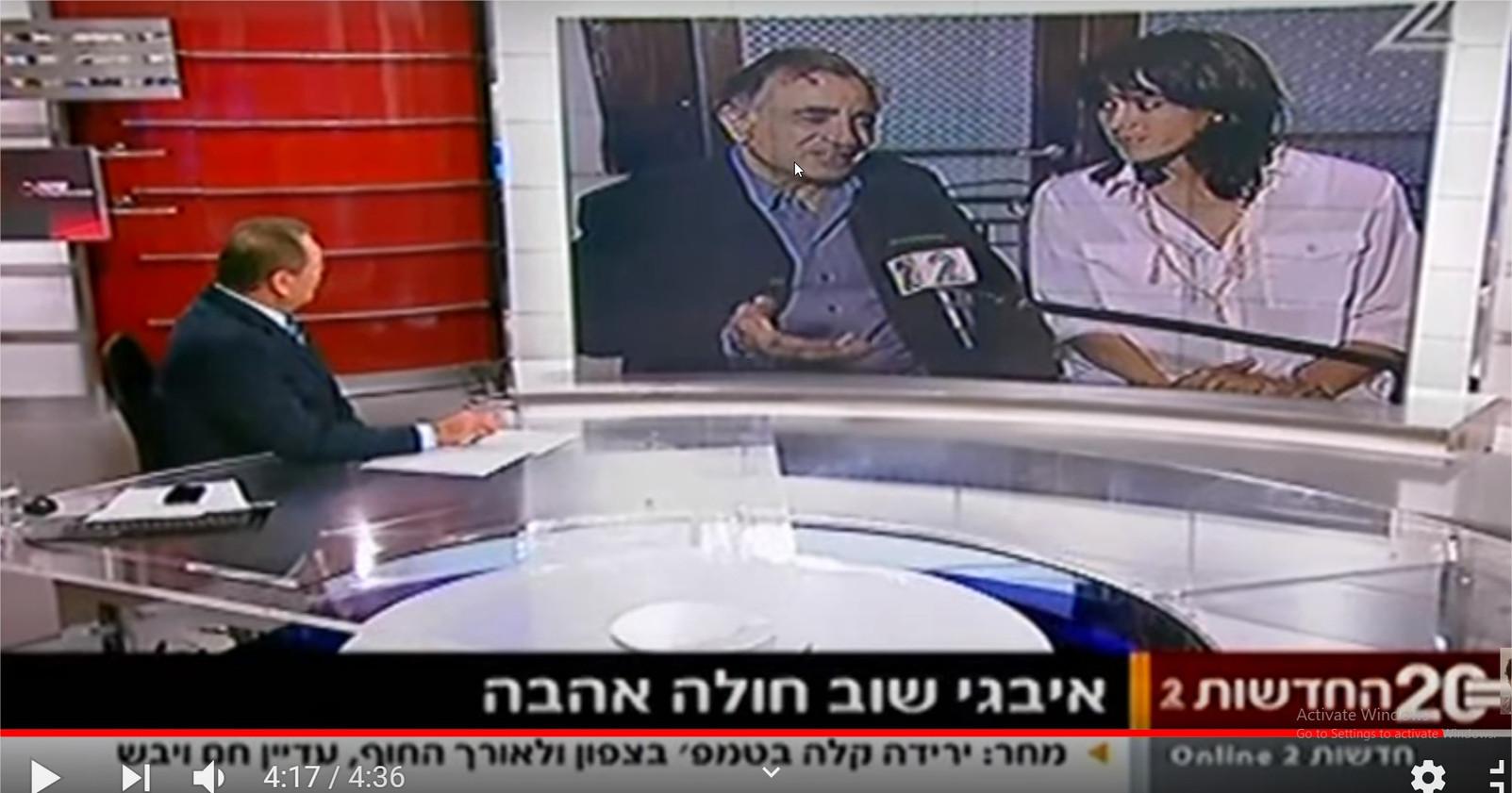 ראיון עם משה איבגי וחן יאני על הסרט התרוממות רוח -אופיר בן שמעון - YouTube - Google Chrome