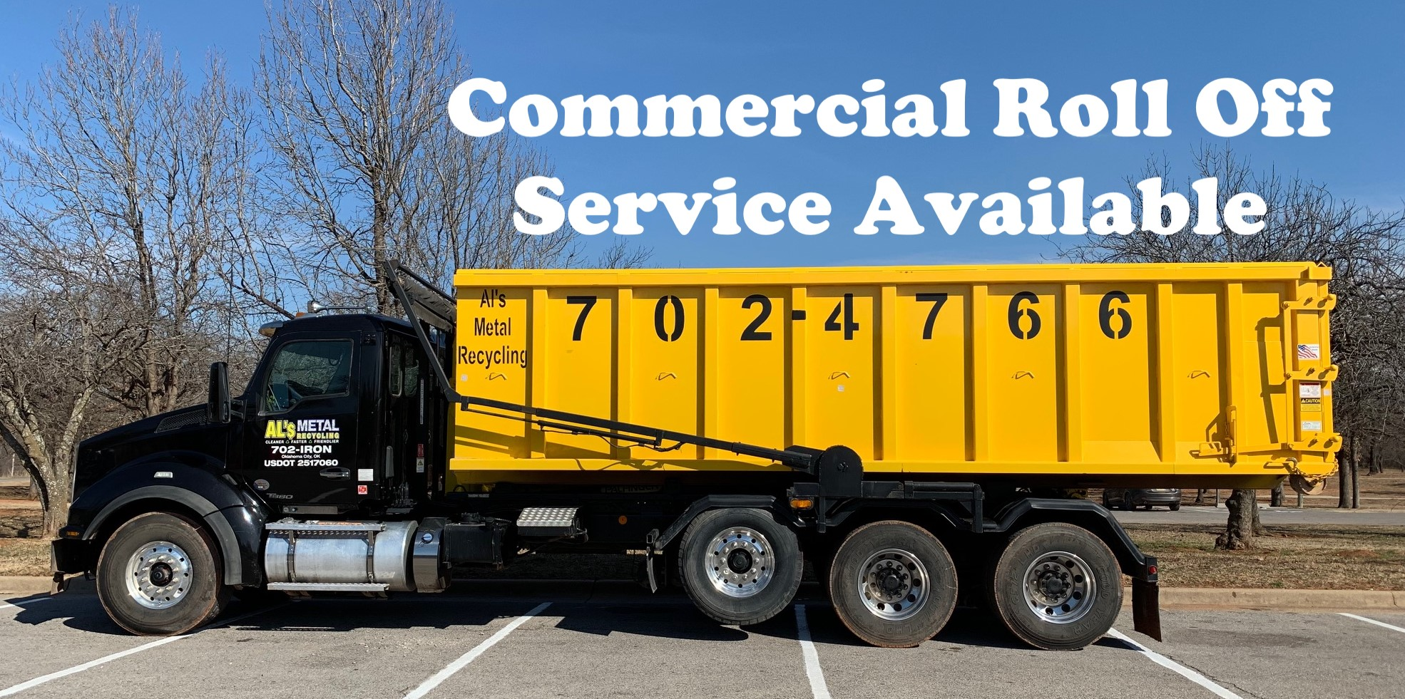 Al's Metal Recycling Oklahoma City, scrap yard, CASH FOR