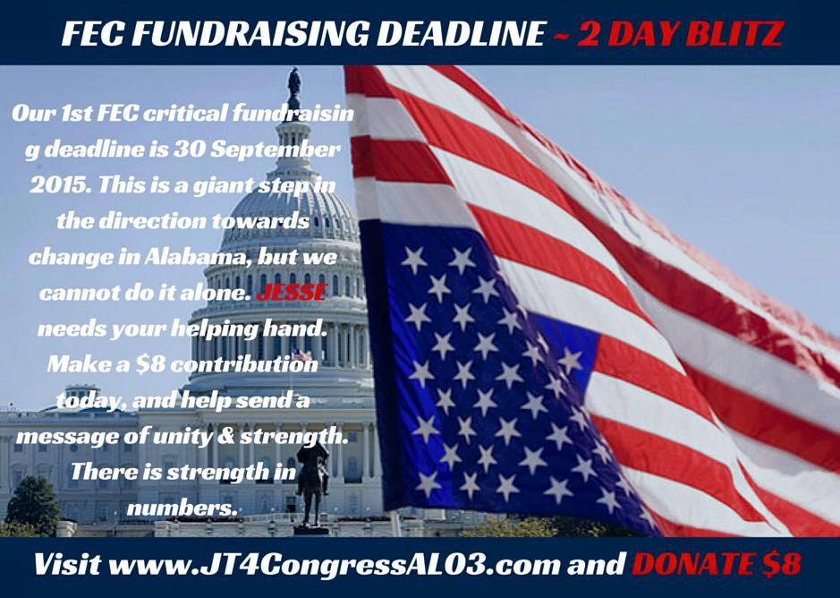 FEC fundraising deadline in 2 days: