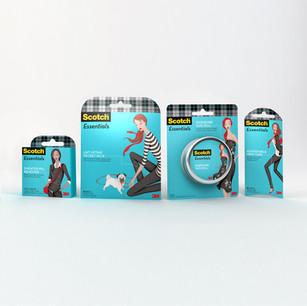 Scotch Essentials - Packaging Illustrations