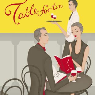 Metrolink Off-peak Poster Campaign – Table for Two