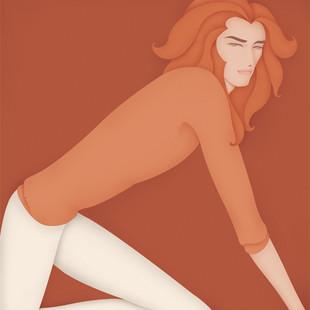 Men & Women Horoscope Set - Leo