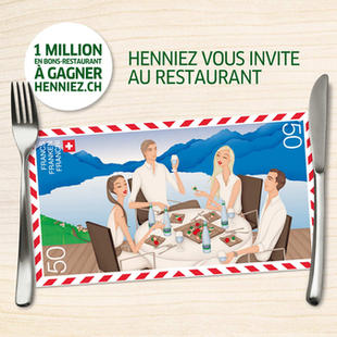 Henniez 'Invites You to the Restaurant' Campaign