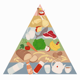 McDonalds Food Pyramid