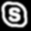 skype white icon