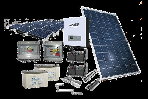 EN-OFF0.855-1-1.2P (kW 0.855 off-grid con accumulo 1.2kWh netti al piombo)