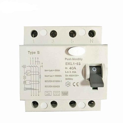 AX-KITRCD3P-B-32A (kit di protezione wall-box trifase)