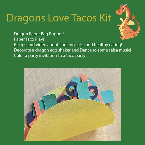 Dragons Love Tacos Take-home Kit