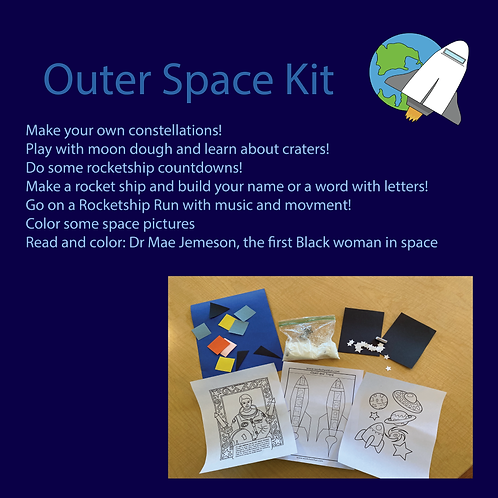 Outer Space Take-home Kit