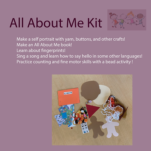 All About Me Take-home Kit