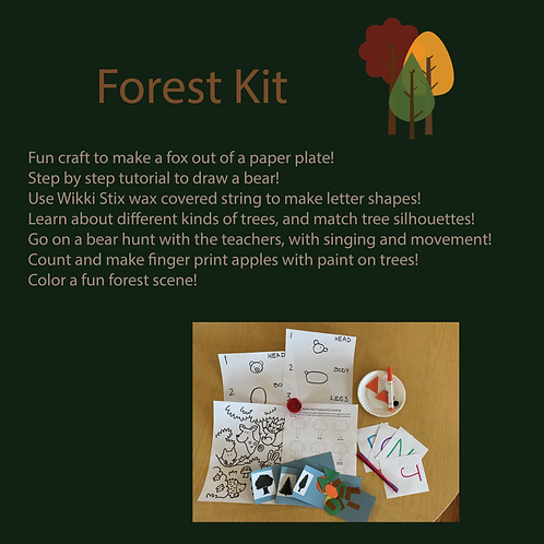 Forest Take-home Kit